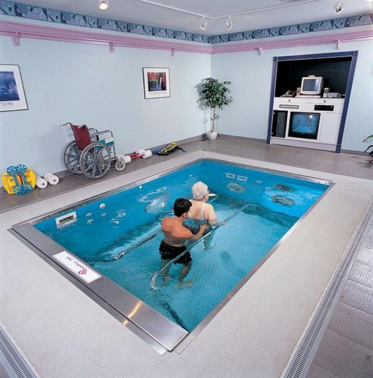 Hydroworx therapy pool.