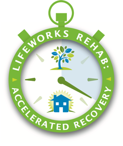 LifeWorks Stopwatch representing LifeWorks Rehab: Accelerated Recovery